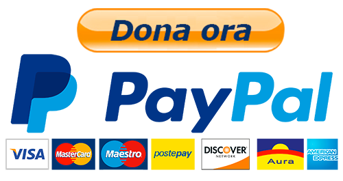 donazione paypal o carte